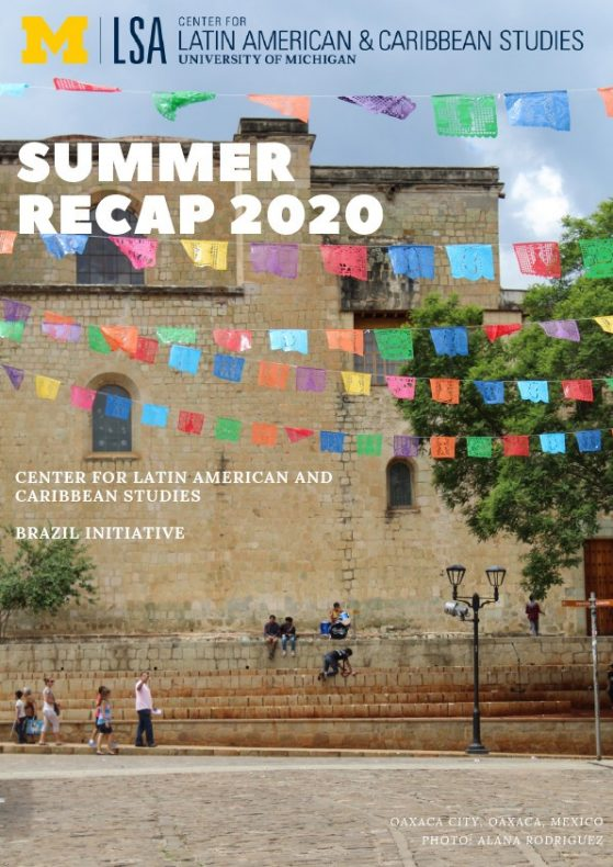 Center for Latin American and Caribbean Studies - Newsletter 2018