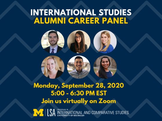 PICS 2020 Career Panel News Story Homepage