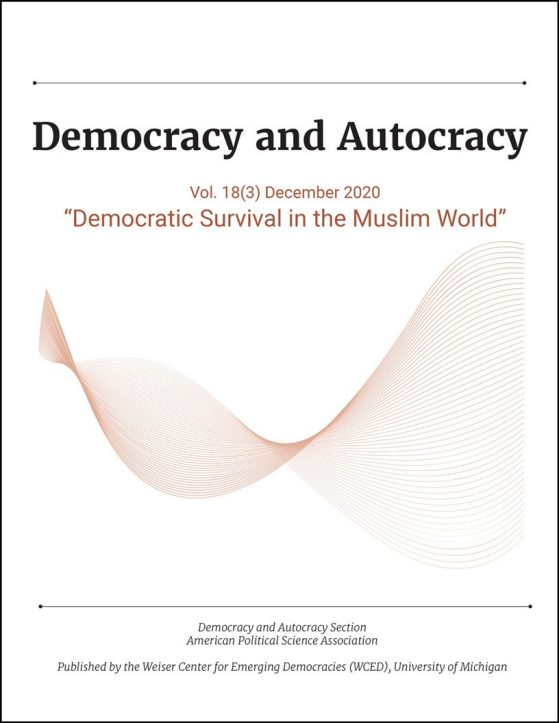 Democracy and Autocracy Vol. 18(3), Democratic Survival in the Muslim World