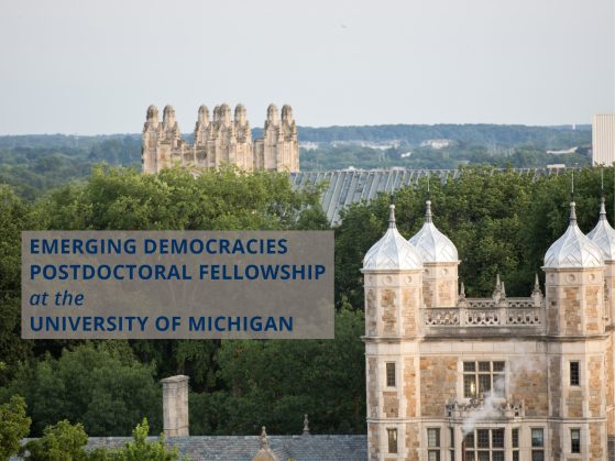 Apply Now! Postdoctoral Fellowship